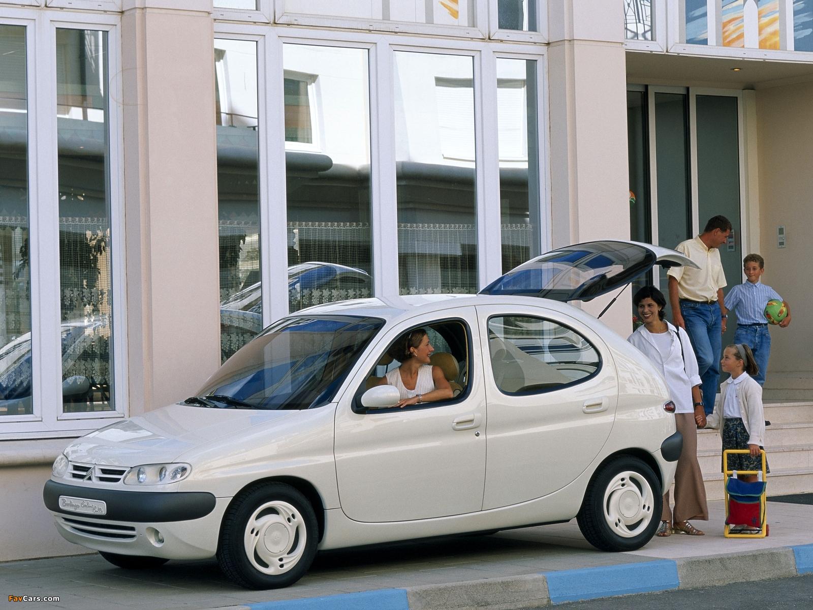 Photos of Citroën Berlingo Berline Bulle Concept 1996 (1600 x 1200)