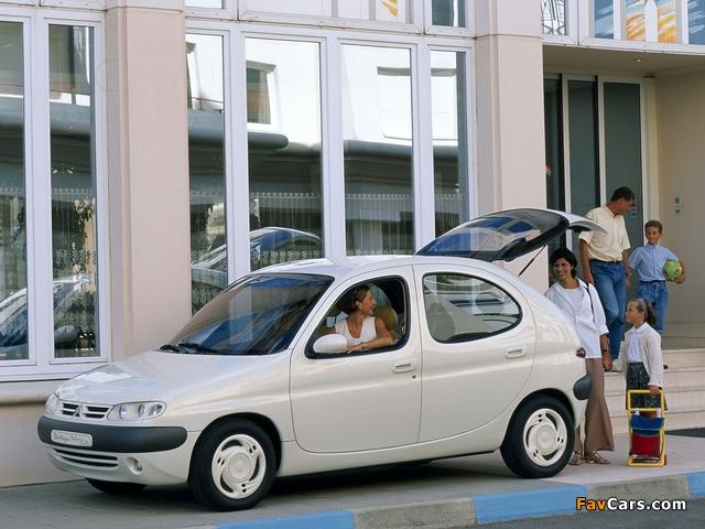 Photos of Citroën Berlingo Berline Bulle Concept 1996 (640 x 480)