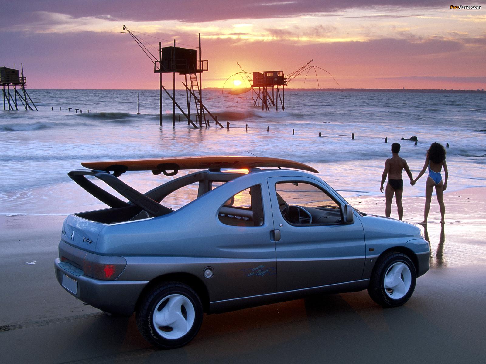 Photos of Citroën Berlingo Coupe de Plage Concept 1996 (1600 x 1200)