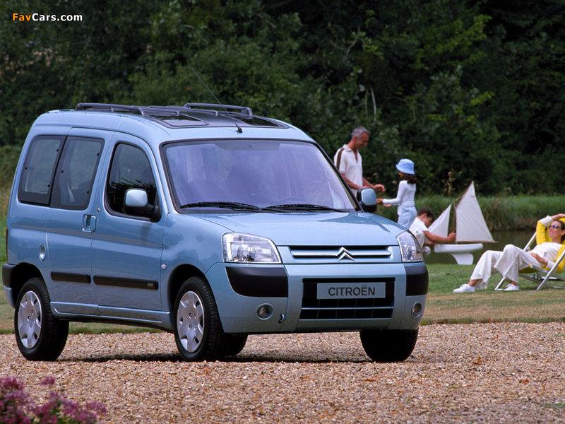 Photos of Citroën Berlingo Multispace 2002–05 (800 x 600)