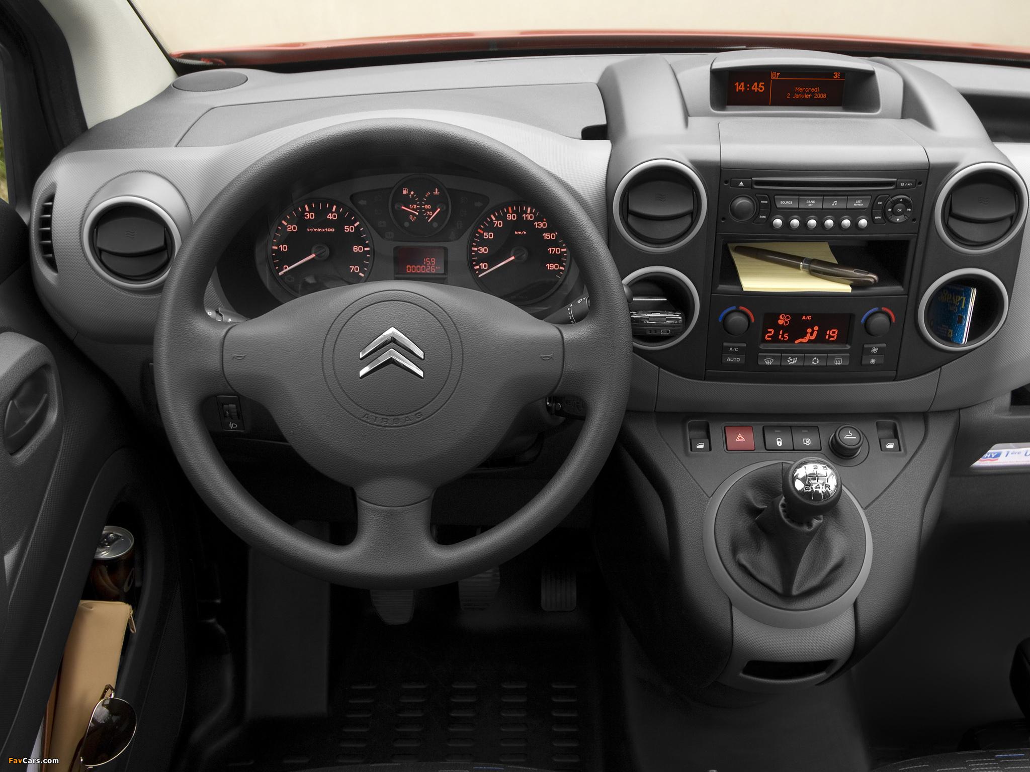Photos of Citroën Berlingo Van 2008–12 (2048 x 1536)