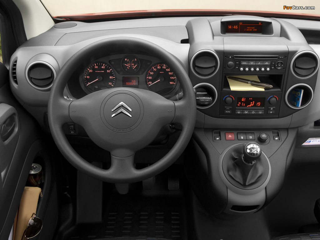 Photos of Citroën Berlingo Van 2008–12 (1024 x 768)