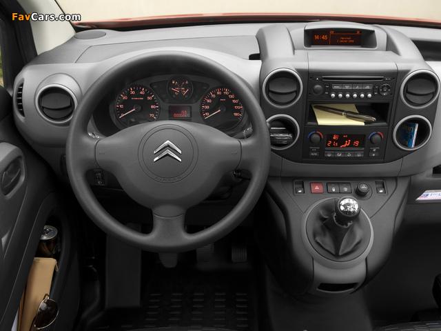 Photos of Citroën Berlingo Van 2008–12 (640 x 480)