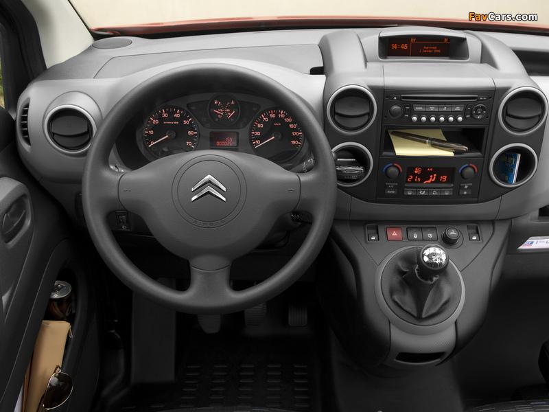 Photos of Citroën Berlingo Van 2008–12 (800 x 600)