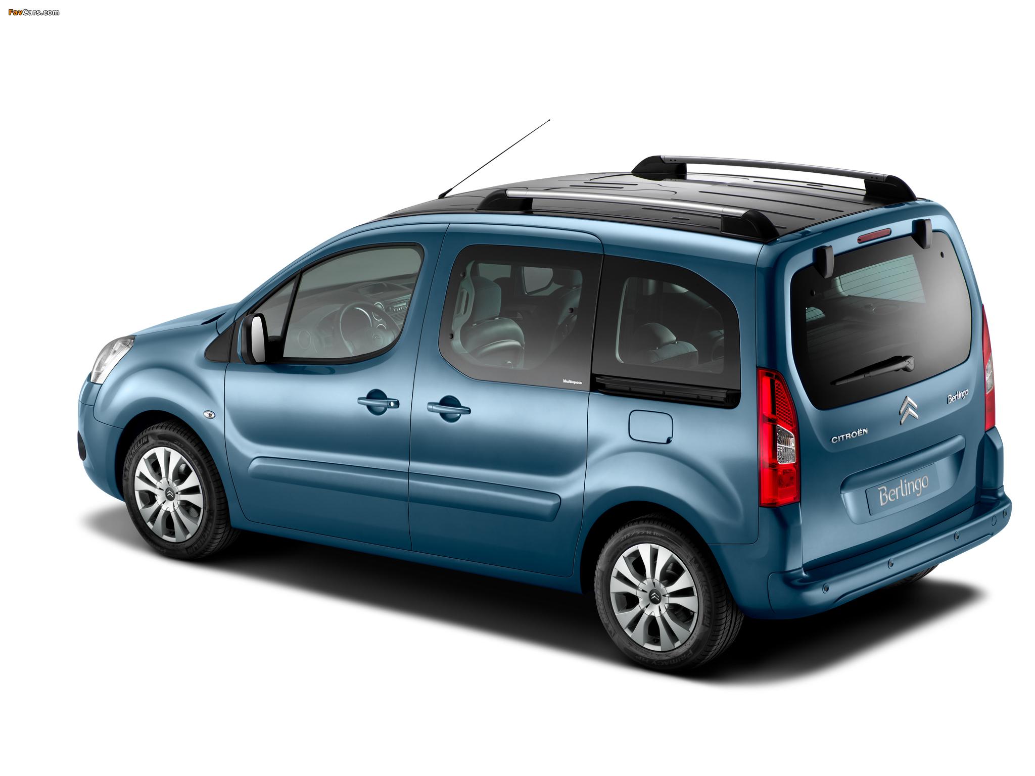 Photos of Citroën Berlingo Multispace 2008–12 (2048 x 1536)