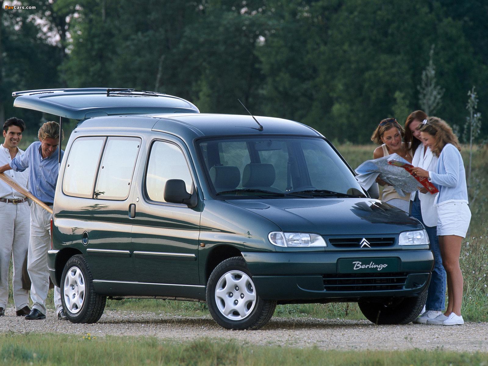 Pictures of Citroën Berlingo Multispace 1996–2002 (1600 x 1200)