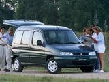 Pictures of Citroën Berlingo Multispace 1996–2002