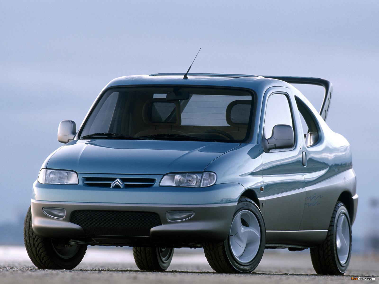 Pictures of Citroën Berlingo Coupe de Plage Concept 1996 (1600 x 1200)