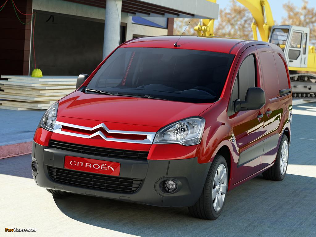 Pictures of Citroën Berlingo Van 2008–12 (1024 x 768)
