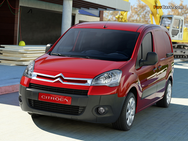 Pictures of Citroën Berlingo Van 2008–12 (640 x 480)
