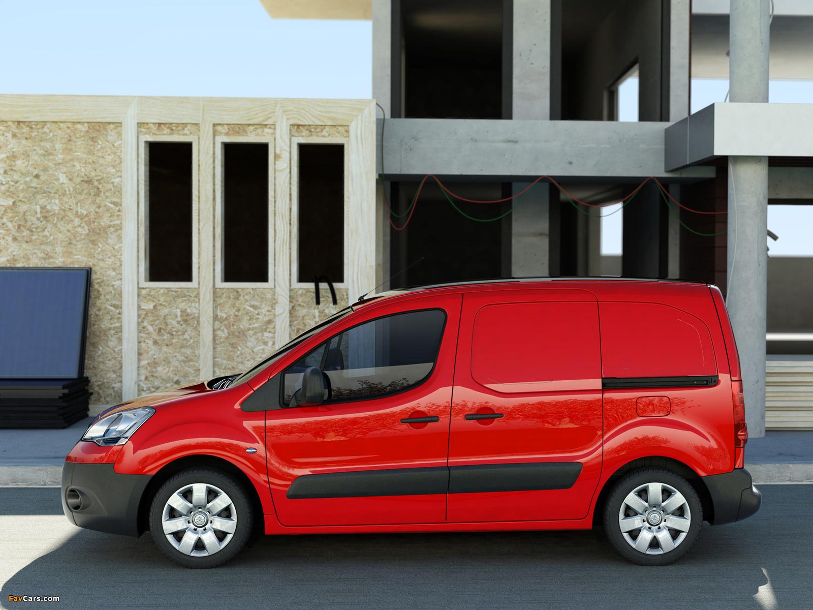 Pictures of Citroën Berlingo Van 2008–12 (1600 x 1200)