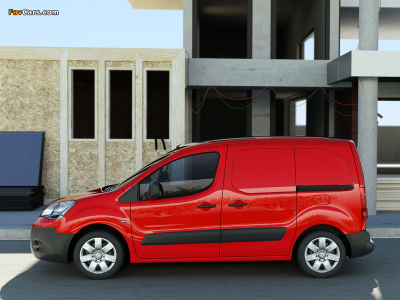 Pictures of Citroën Berlingo Van 2008–12 (800 x 600)