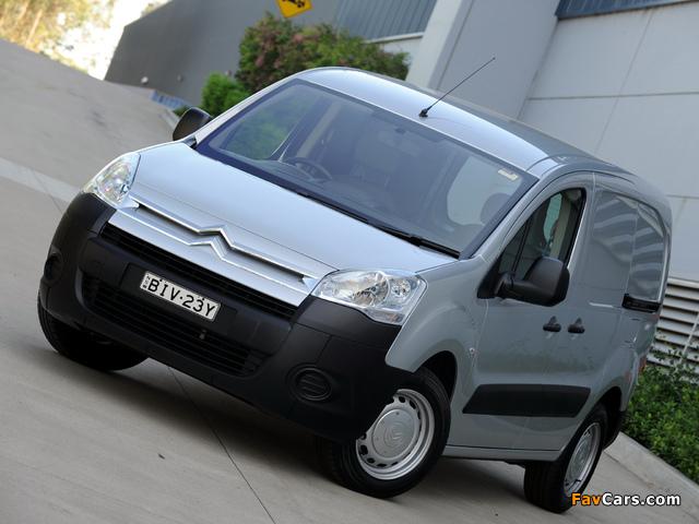 Pictures of Citroën Berlingo Van AU-spec 2009–12 (640 x 480)