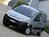 Pictures of Citroën Berlingo Van AU-spec 2009–12