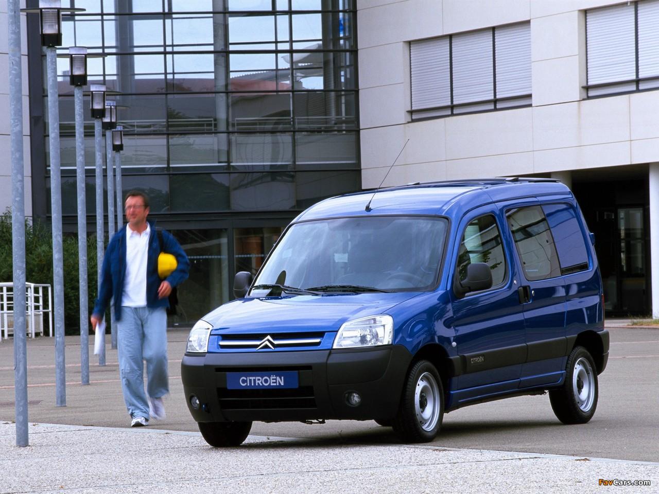 Citroën Berlingo Combi 2002–11 wallpapers (1280 x 960)