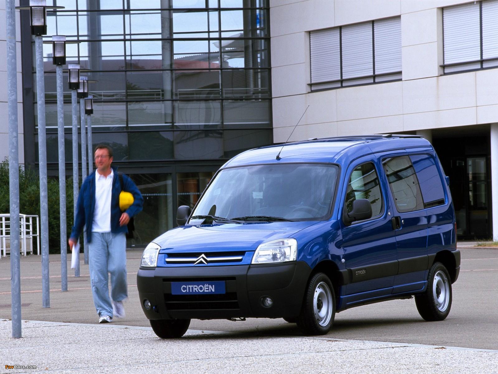Citroën Berlingo Combi 2002–11 wallpapers (1600 x 1200)