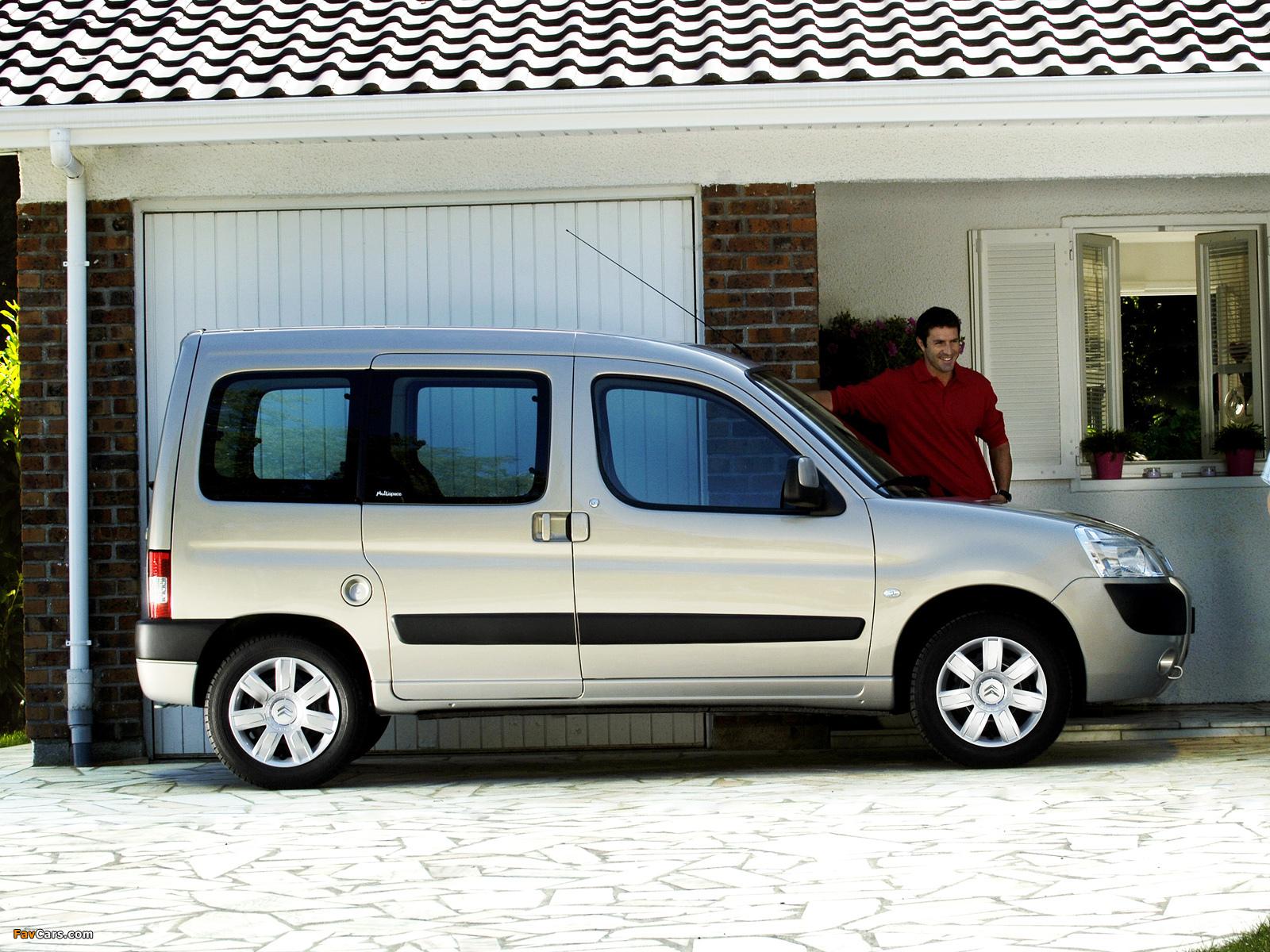 Citroën Berlingo Multispace 2005–08 wallpapers (1600 x 1200)