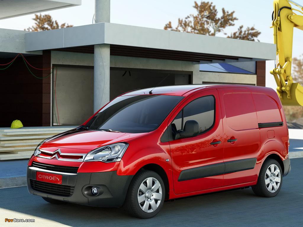 Citroën Berlingo Van 2008–12 wallpapers (1024 x 768)