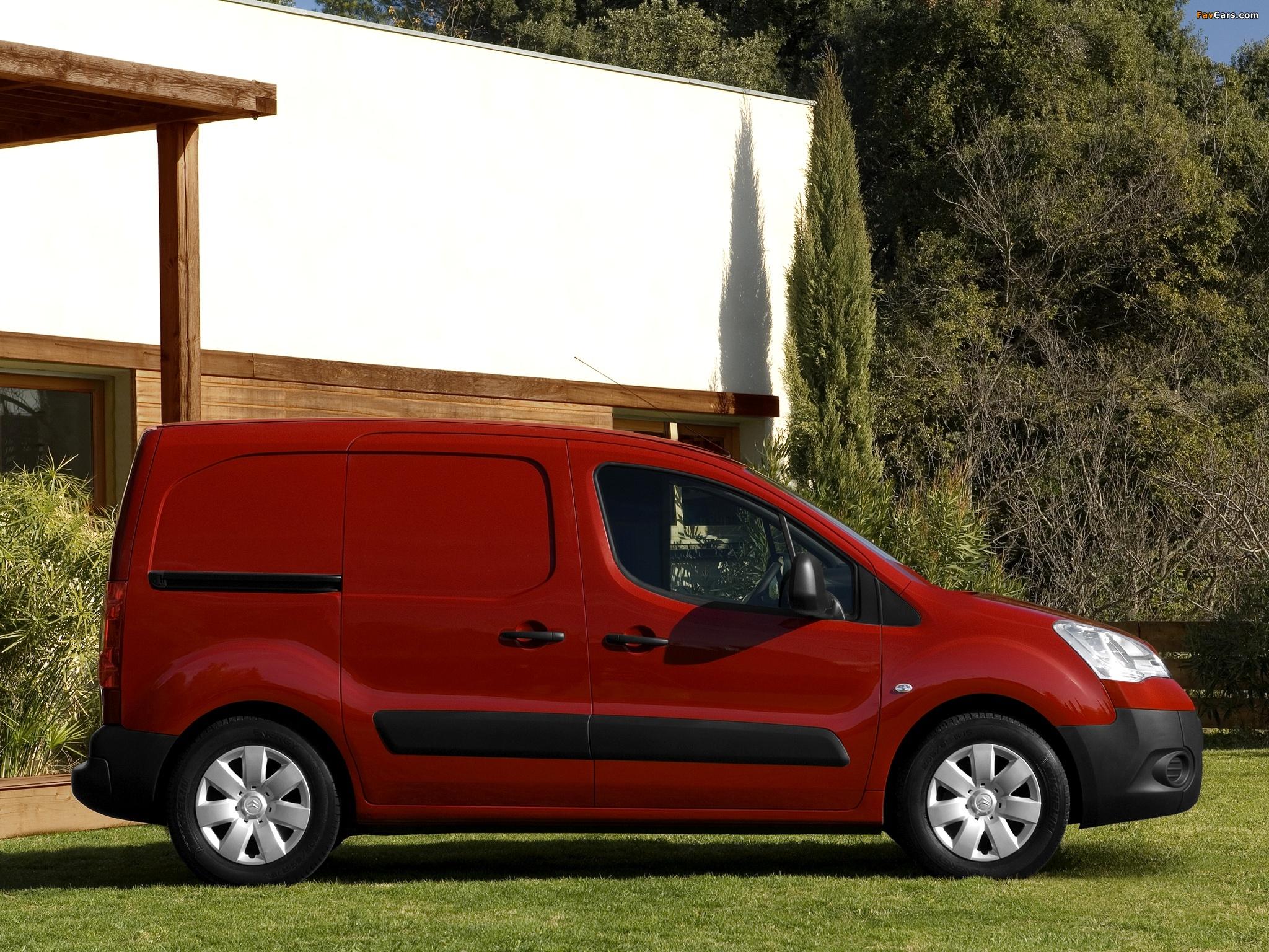 Citroën Berlingo Van 2008–12 wallpapers (2048 x 1536)
