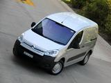 Citroën Berlingo Van AU-spec 2009–12 wallpapers
