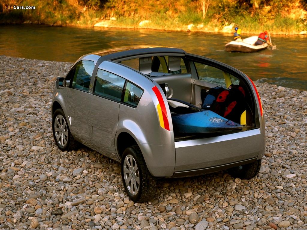 Citroën C-Crosser Concept 2001 images (1024 x 768)