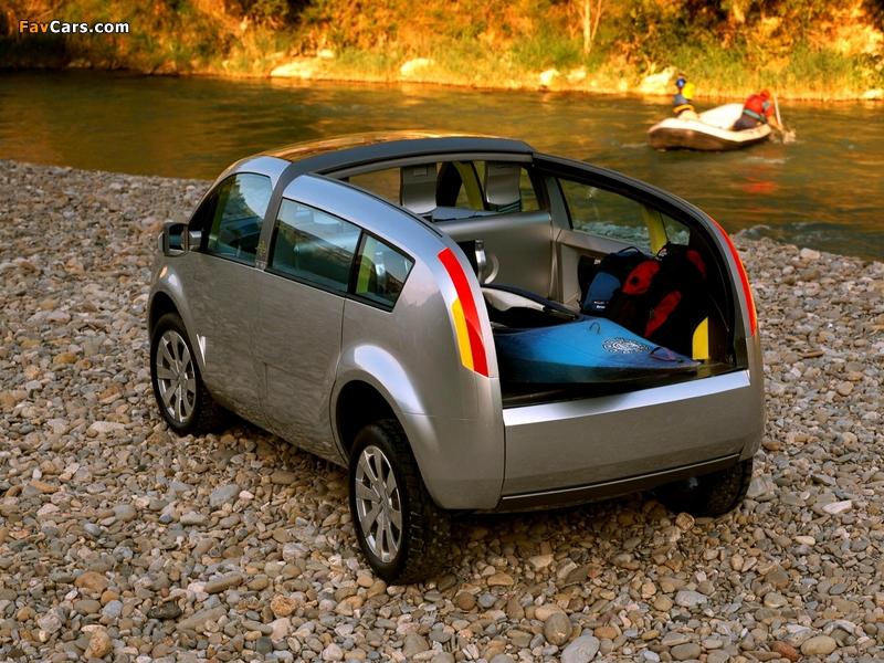 Citroën C-Crosser Concept 2001 images (800 x 600)
