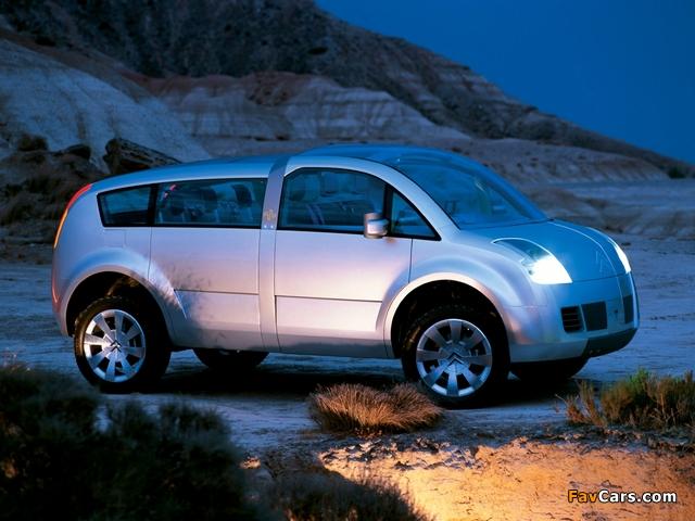 Citroën C-Crosser Concept 2001 pictures (640 x 480)