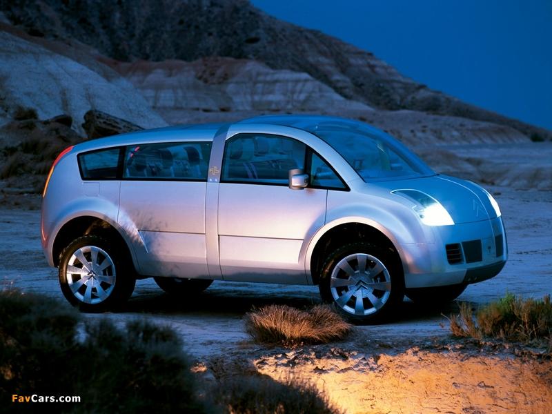 Citroën C-Crosser Concept 2001 pictures (800 x 600)