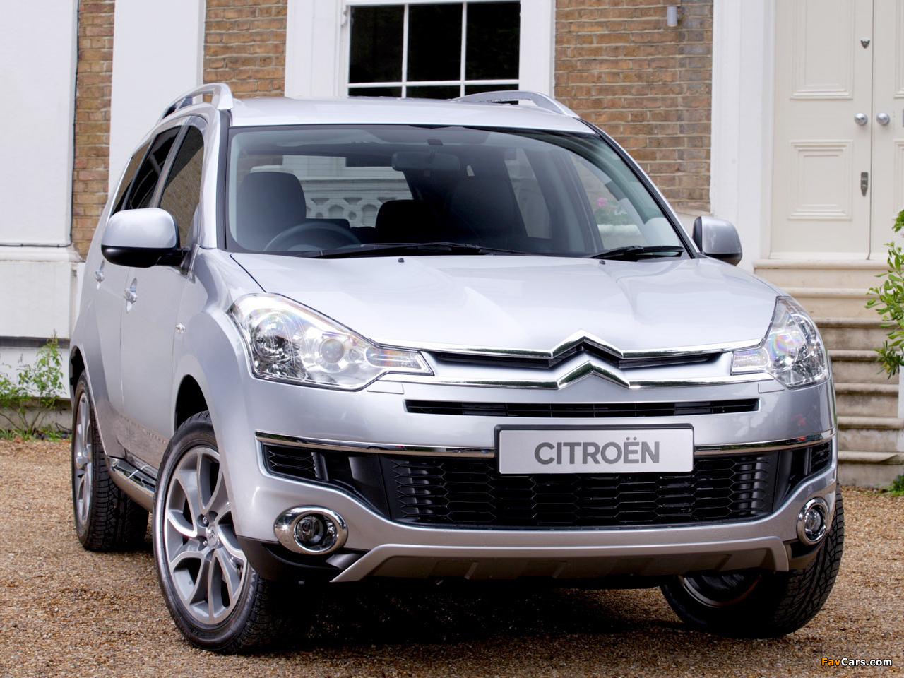 Citroën C-Crosser UK-spec 2007–12 images (1280 x 960)