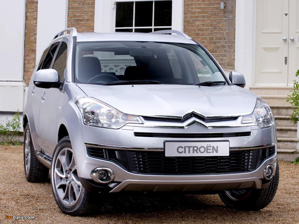 Citroën C-Crosser UK-spec 2007–12 images (1024 x 768)