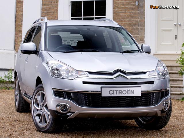 Citroën C-Crosser UK-spec 2007–12 images (640 x 480)
