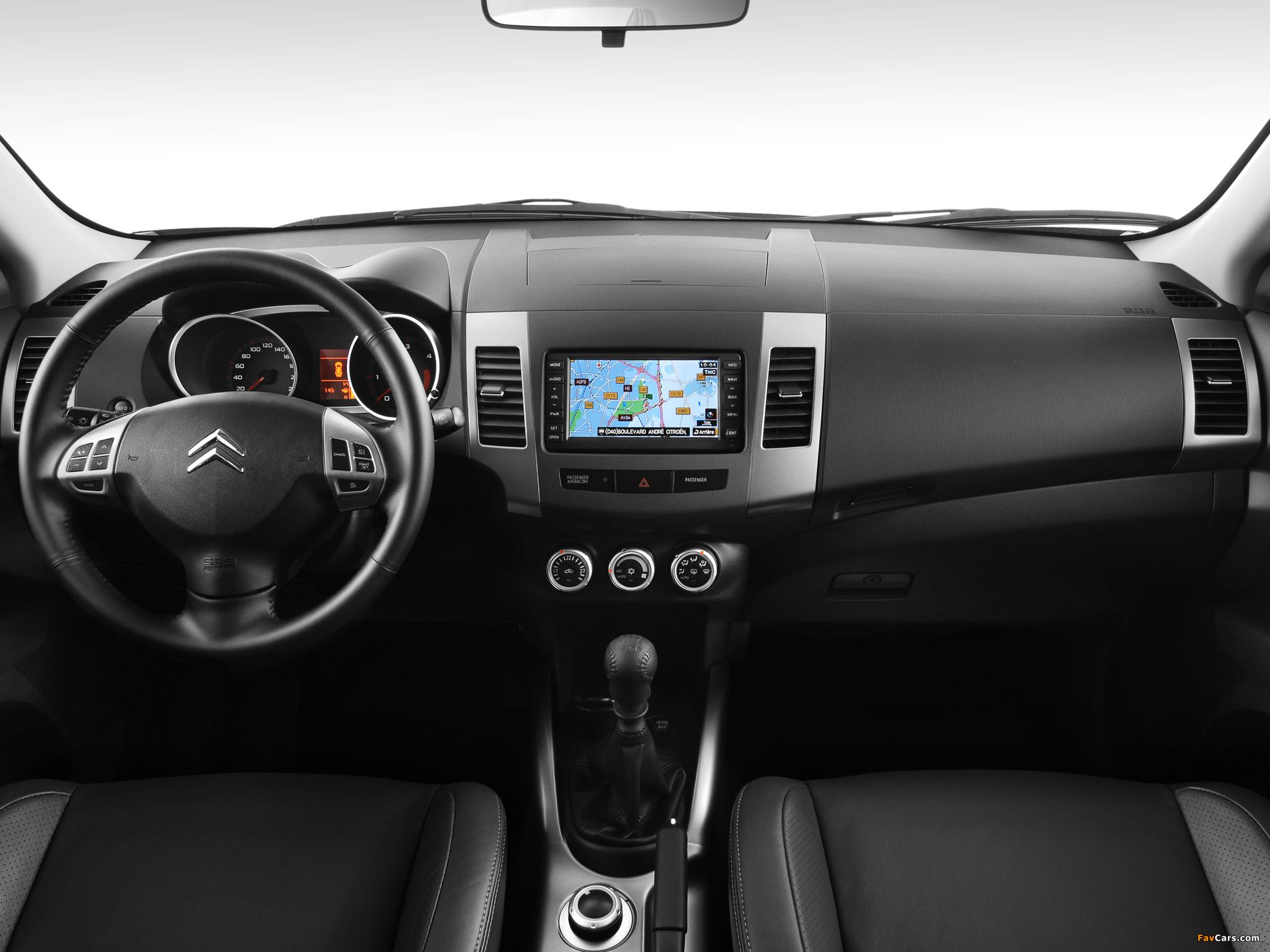 Images of Citroën C-Crosser 2007 (2048 x 1536)