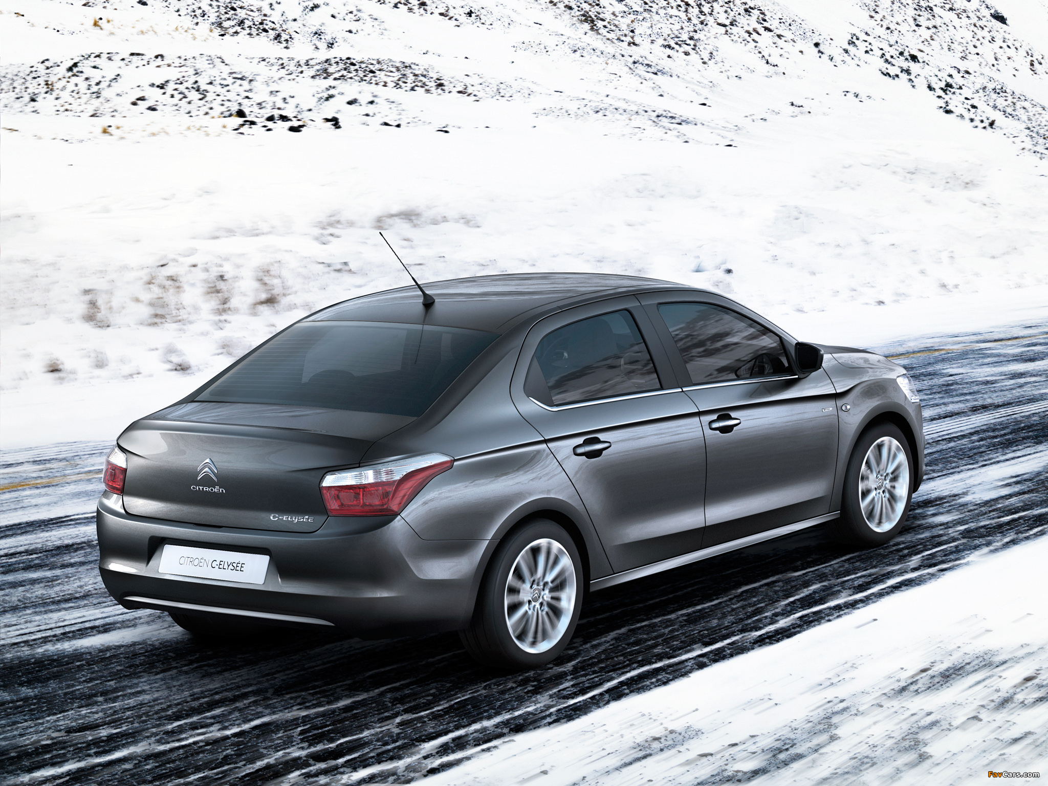 Citroën C-Elysée 2012 images (2048 x 1536)