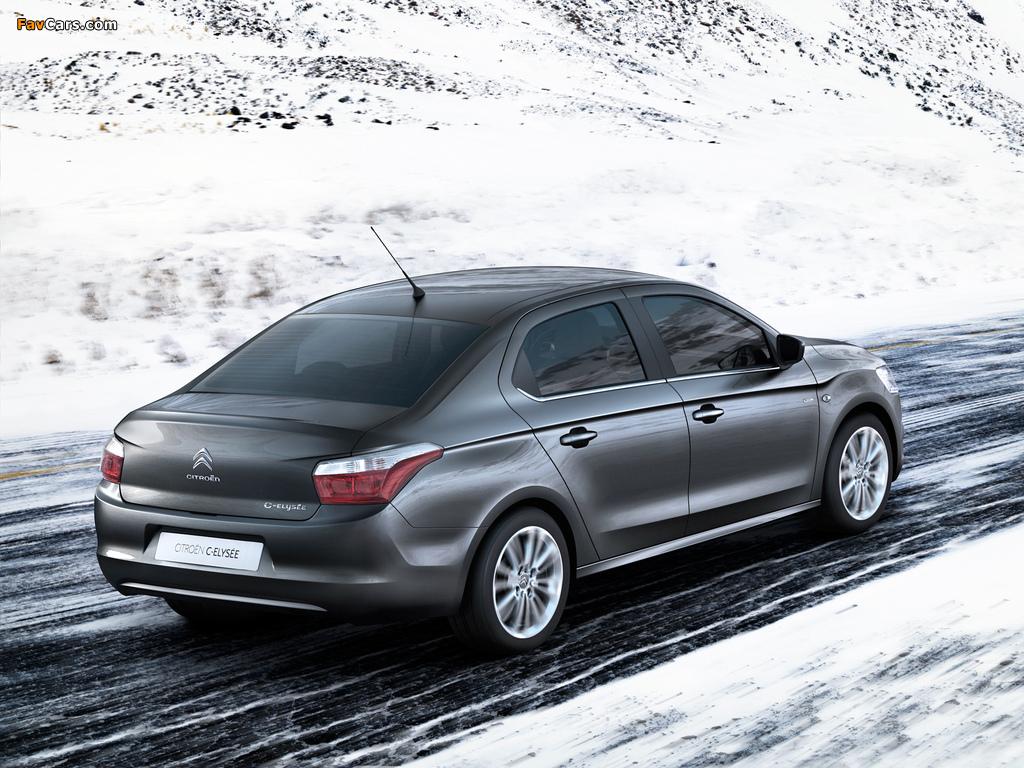 Citroën C-Elysée 2012 images (1024 x 768)