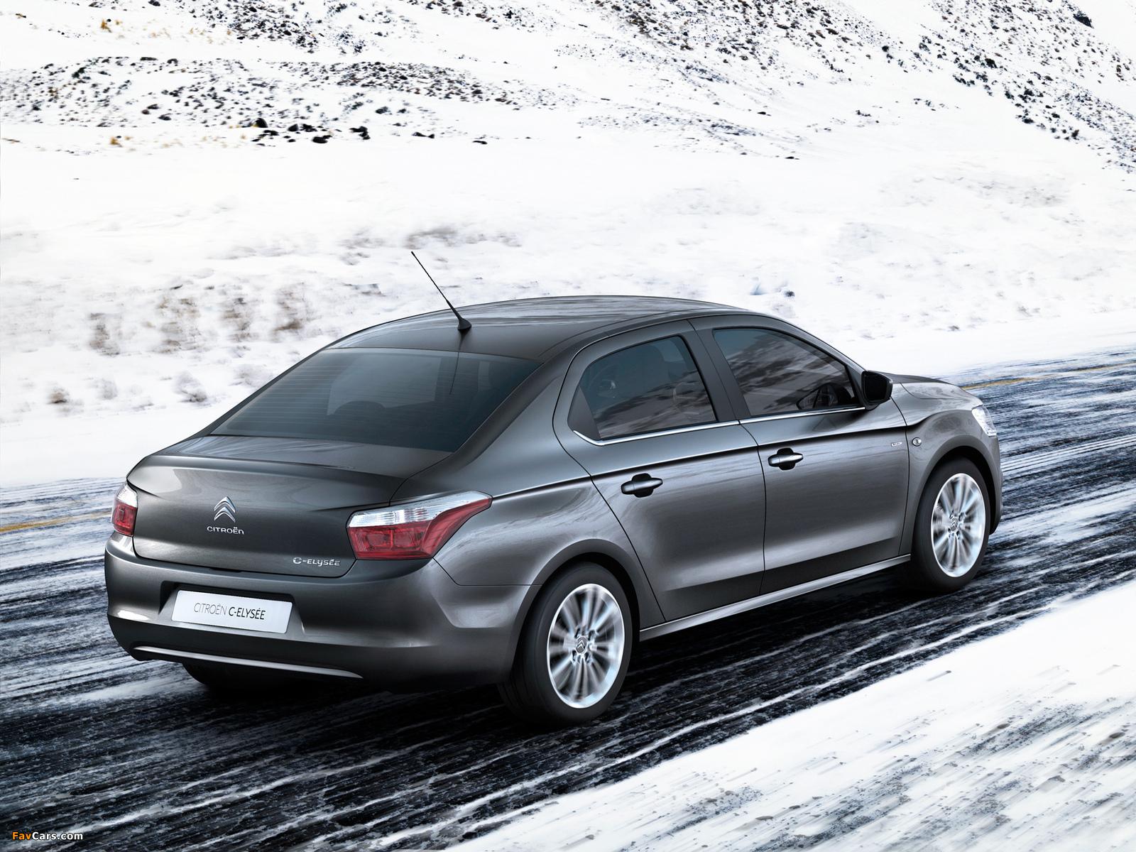 Citroën C-Elysée 2012 images (1600 x 1200)