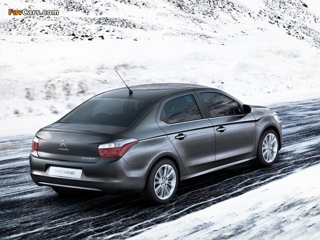 Citroën C-Elysée 2012 images (640 x 480)