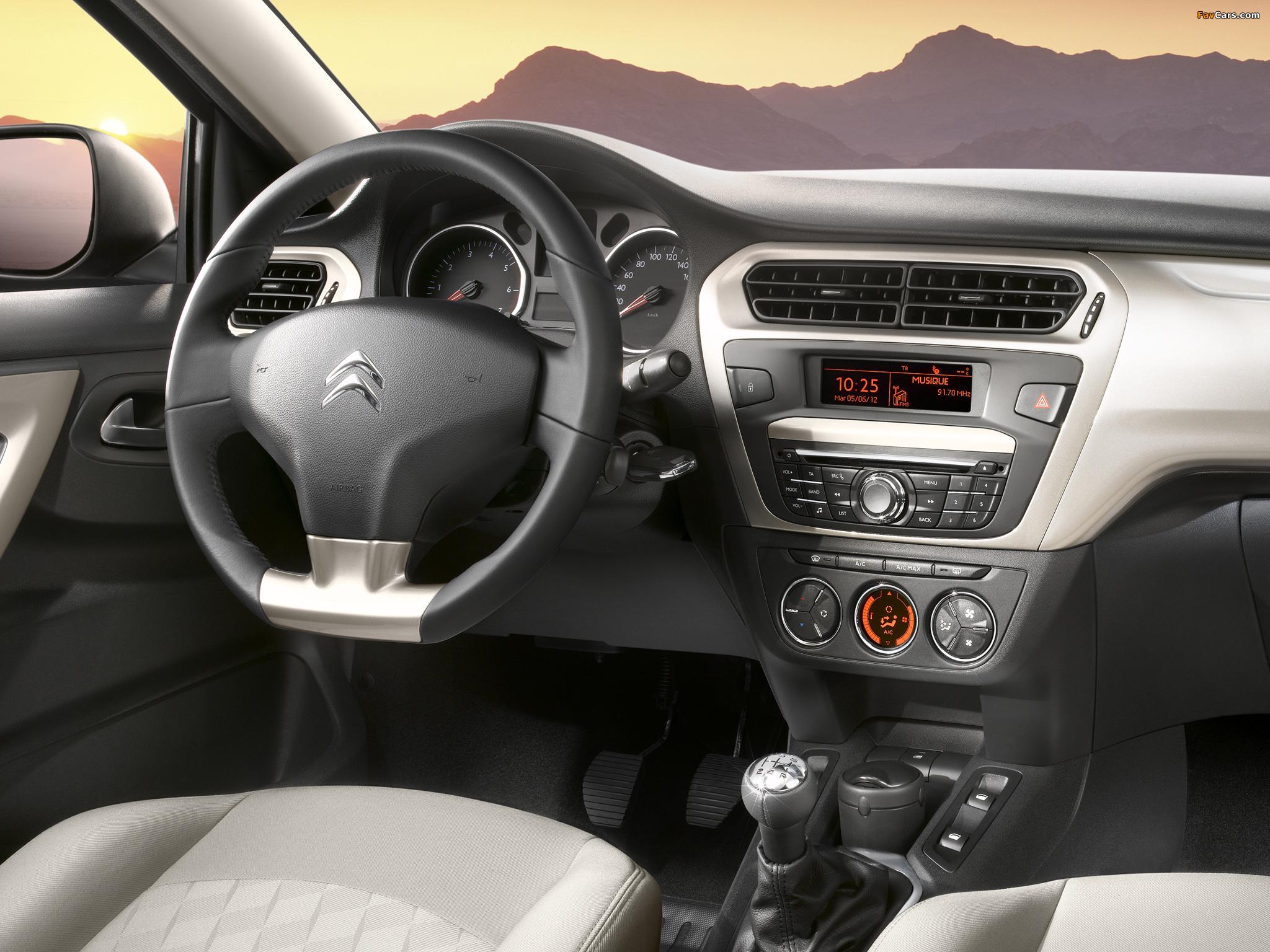 Citroën C-Elysée 2012 wallpapers (2048 x 1536)