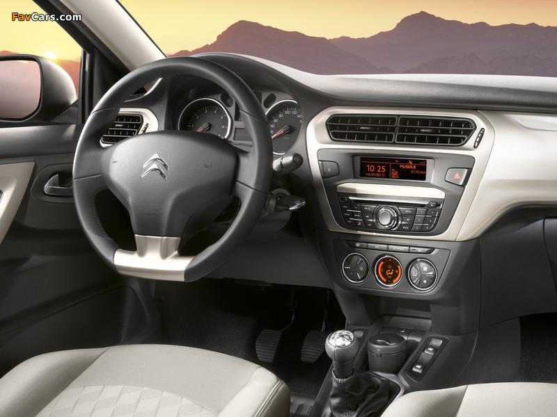 Citroën C-Elysée 2012 wallpapers (800 x 600)