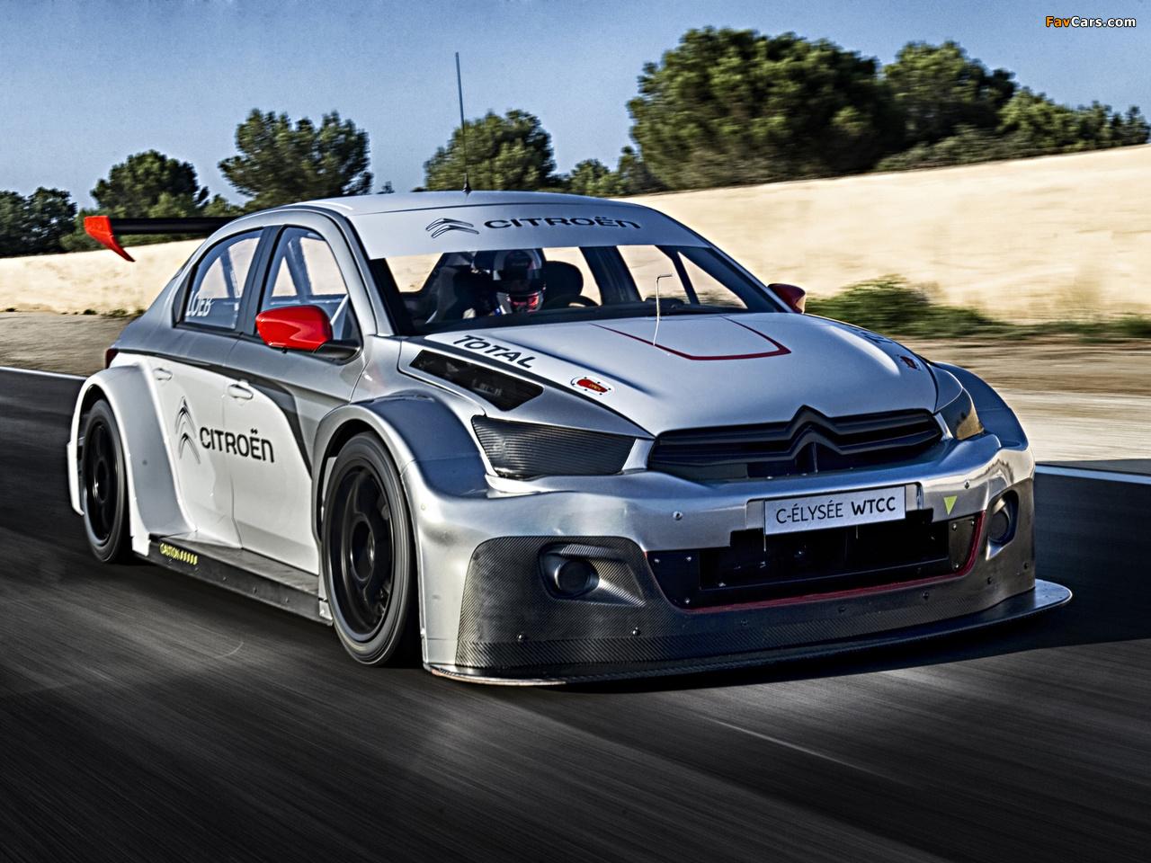 Photos of Citroën C-Elysée WTCC 2014 (1280 x 960)