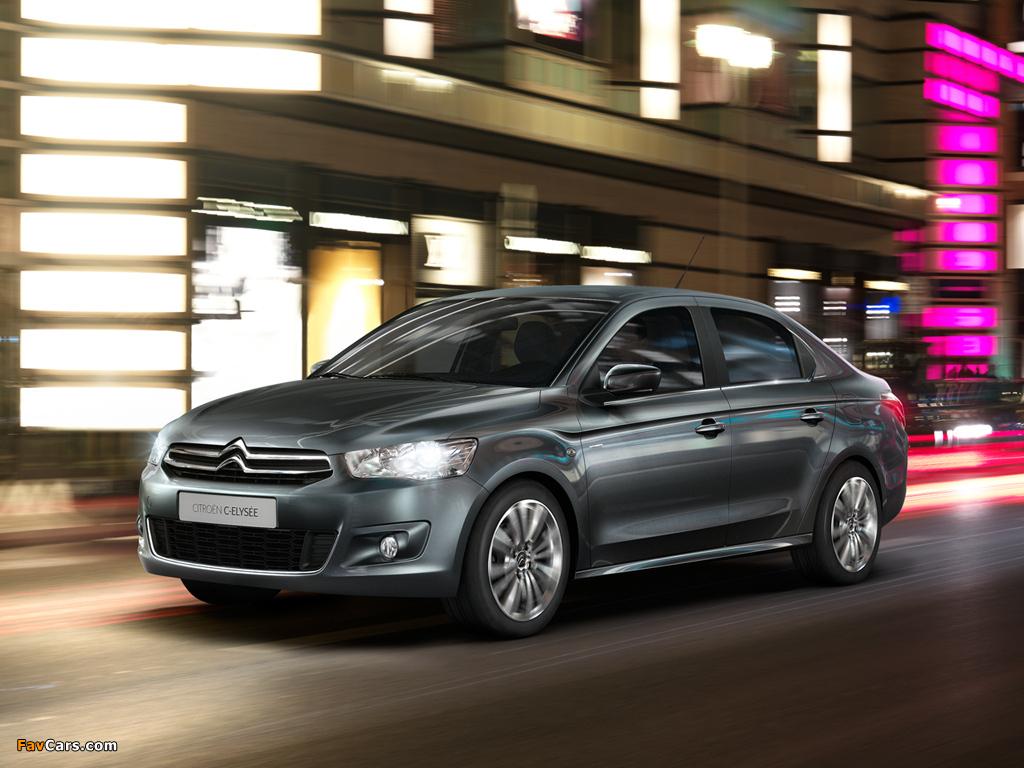 Pictures of Citroën C-Elysée 2012 (1024 x 768)