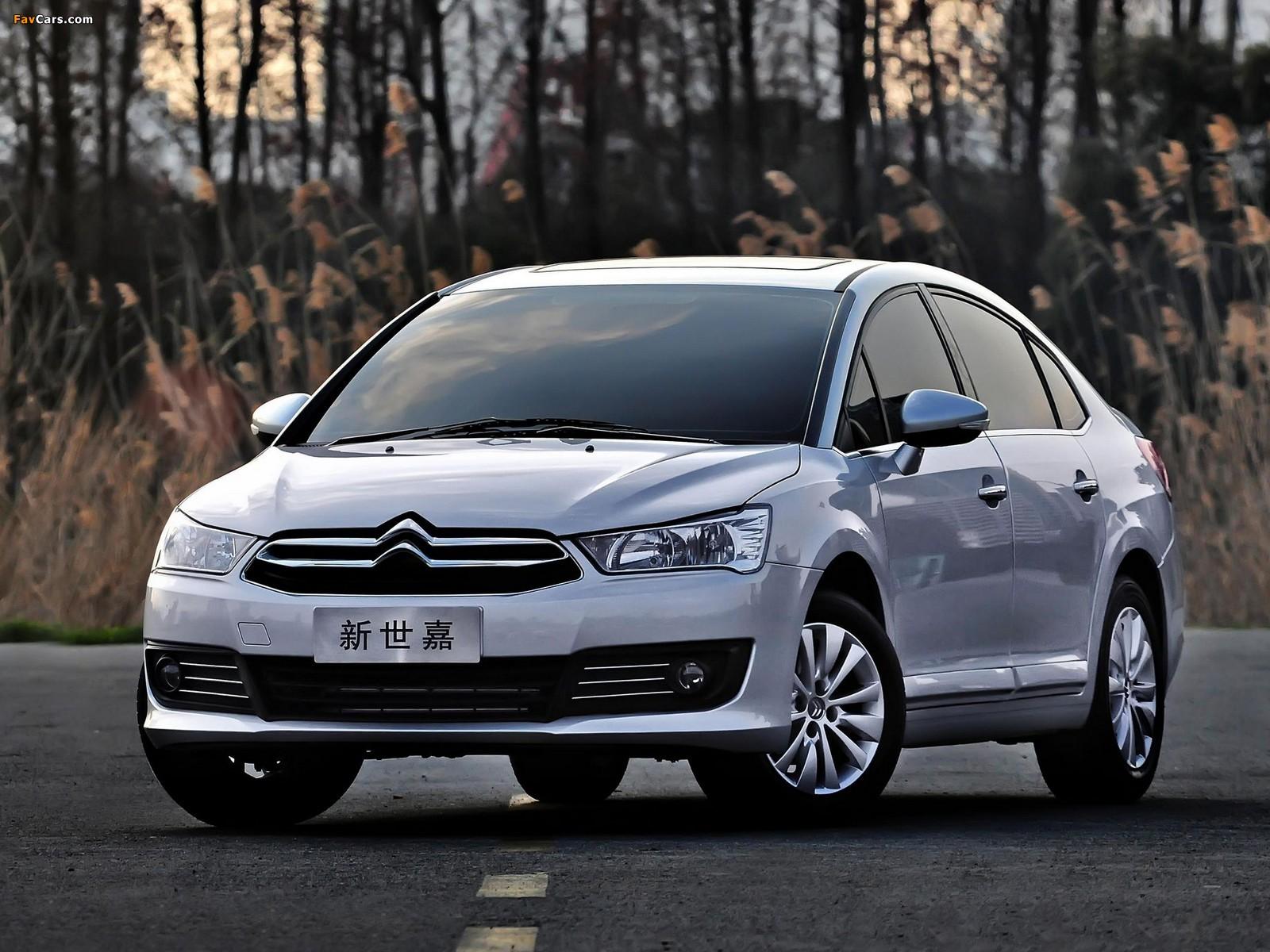 Citroën C-Quatre Sedan 2012 pictures (1600 x 1200)