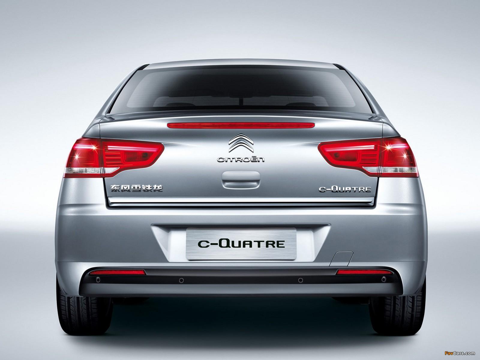 Photos of Citroën C-Quatre Sedan 2012 (1600 x 1200)