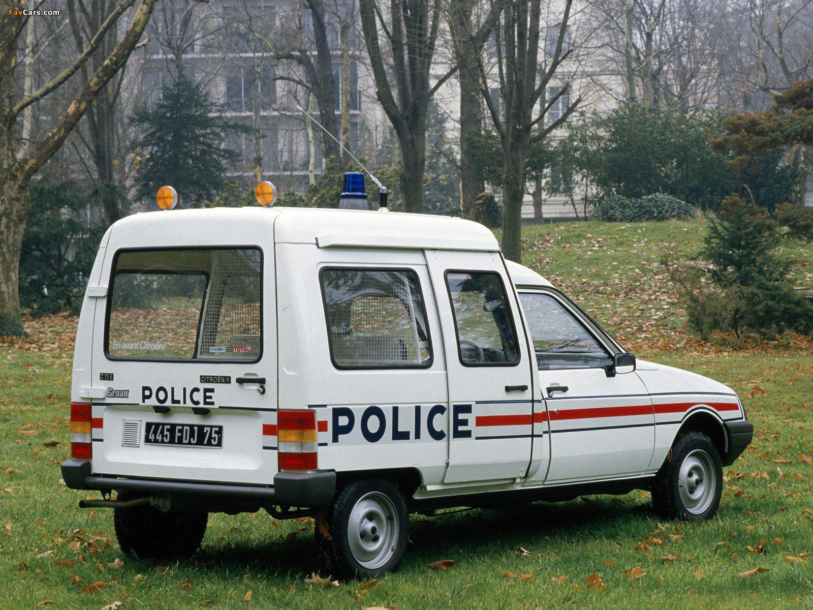Citroën C15 Police 1984–2005 images (1600 x 1200)