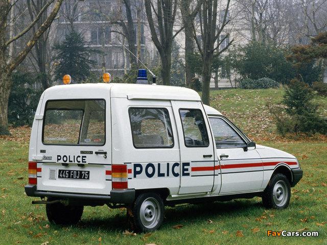 Citroën C15 Police 1984–2005 images (640 x 480)