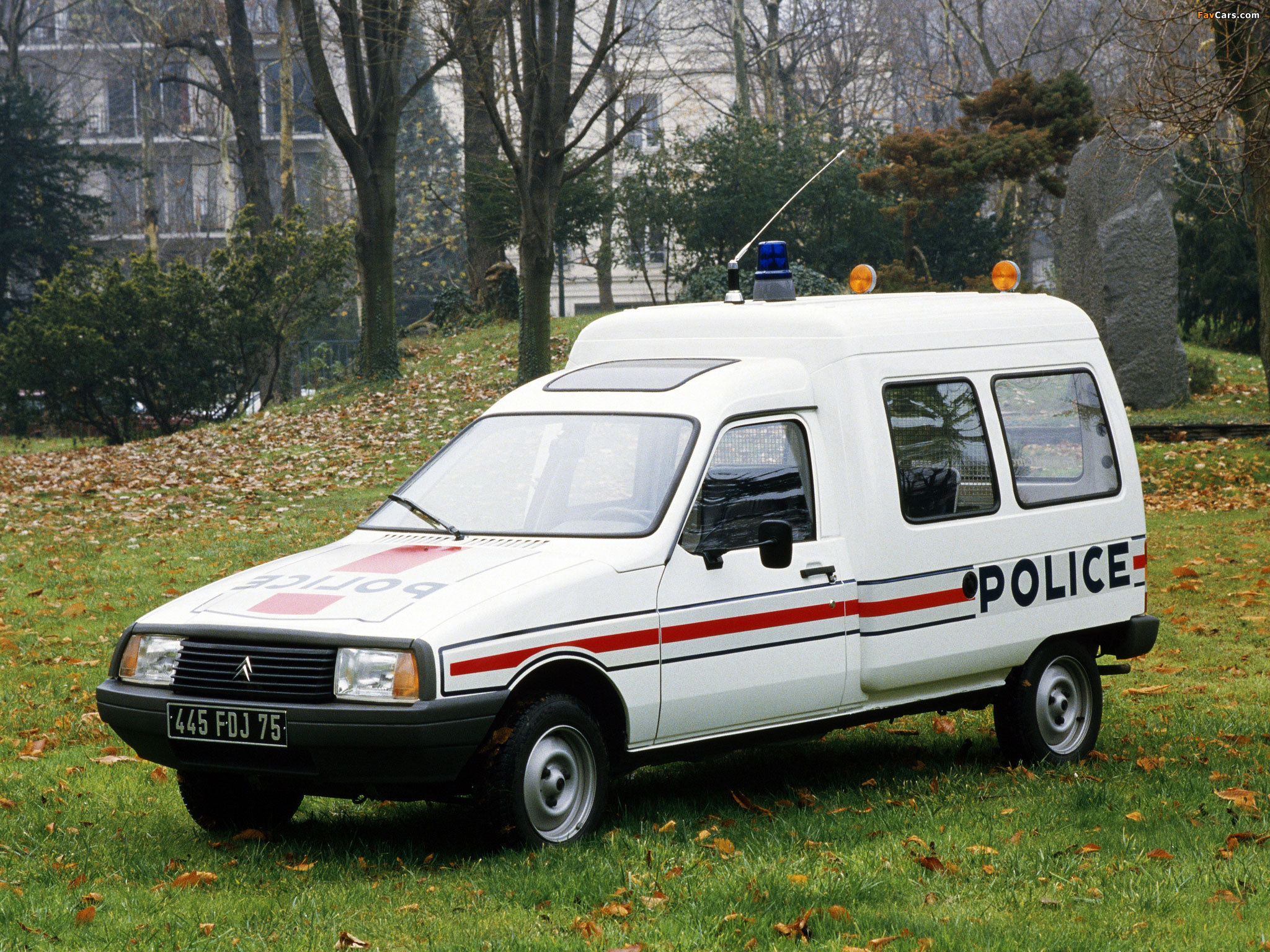 Citroën C15 Police 1984–2005 wallpapers (2048 x 1536)