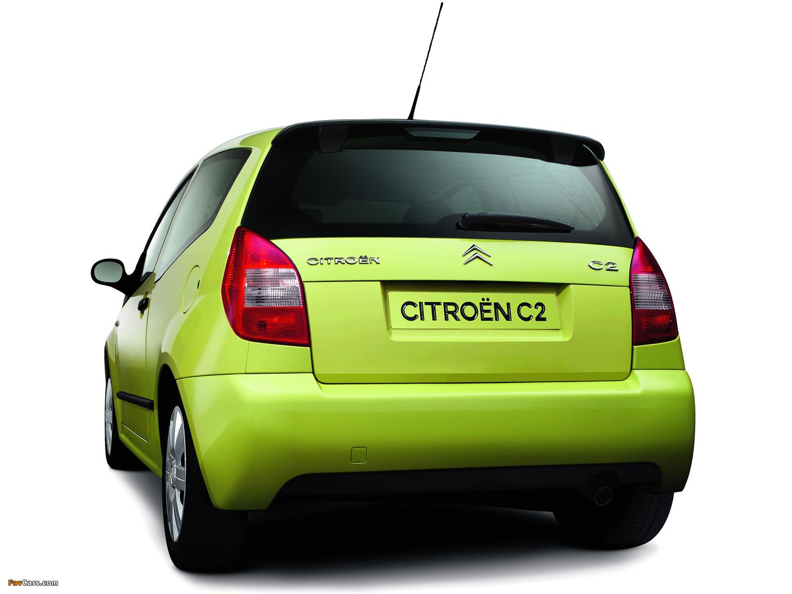 Citroën C2 2003–08 images (1600 x 1200)