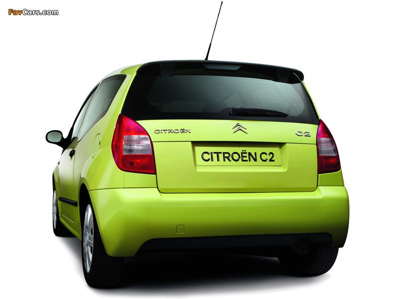 Citroën C2 2003–08 images (800 x 600)
