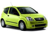 Citroën C2 2003–08 photos