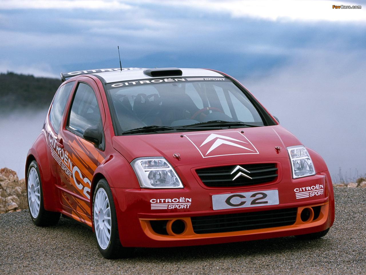 Citroën C2 Sport Concept 2003 pictures (1280 x 960)