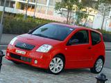 Citroën C2 VTS AU-spec 2004–08 images